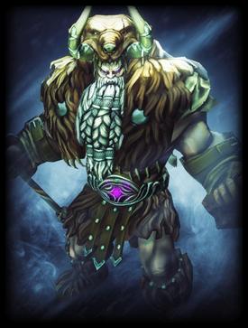 Mountain Man Odin skin card