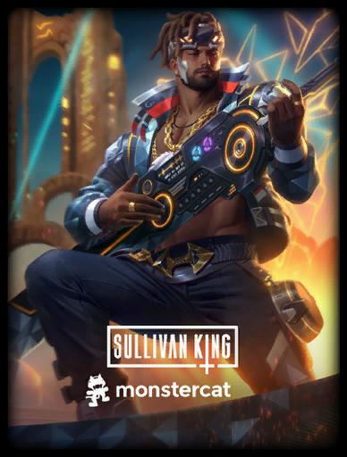 Sullivan King Skin card
