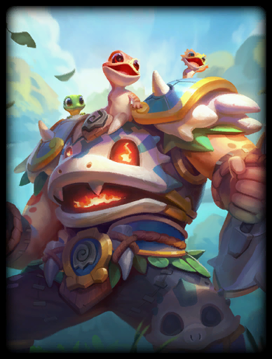Gecko Gladiator Skin card