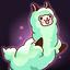 Bouncy Alpaca! Jump Stamp
