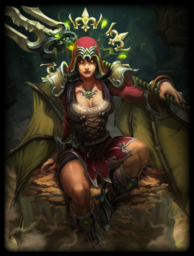 Scarlet Coven Skin card