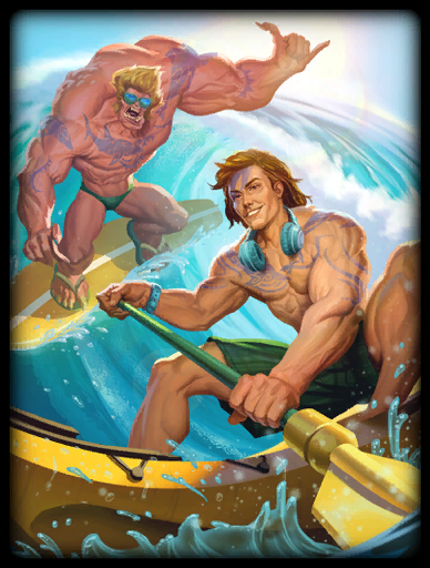 Bae Watch Skin card
