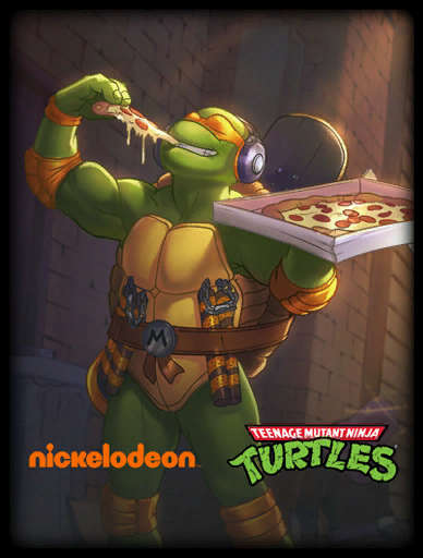 Radical Michelangelo Skin card