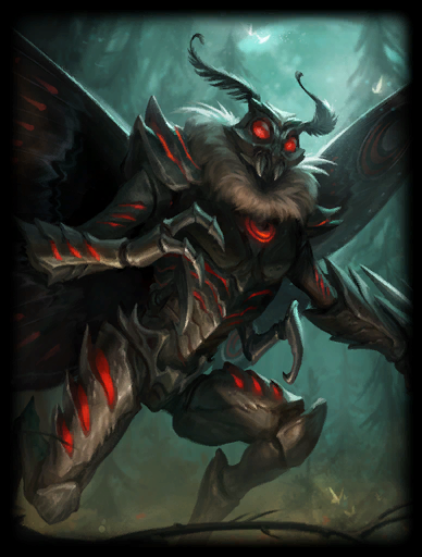 Mothman Skin card