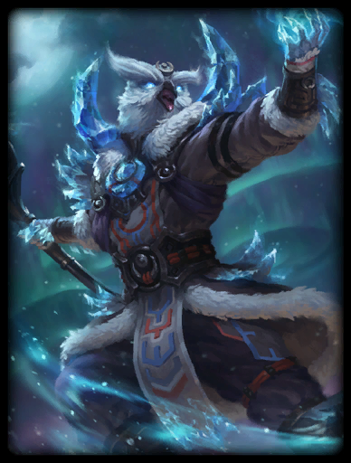 Snow Strix Skin card