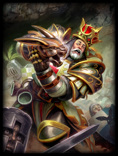 King Ar-Tyr Skin card