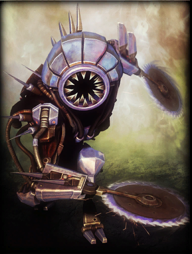 Death Machine Skin card