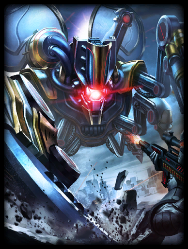 Steel Scarab Skin card