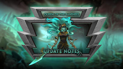 8.10 - The Queen of the Banshees Update
