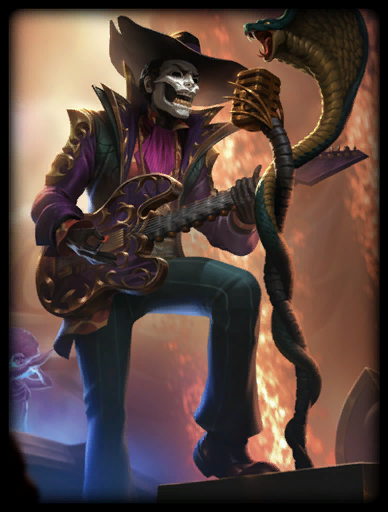 Voodoo Rock Skin card