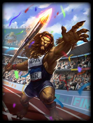 Olympian Skin card