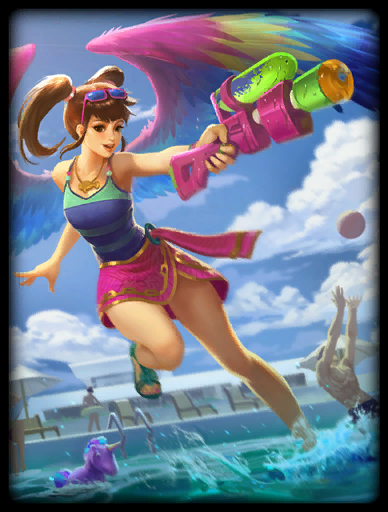 Pool Party Skin card