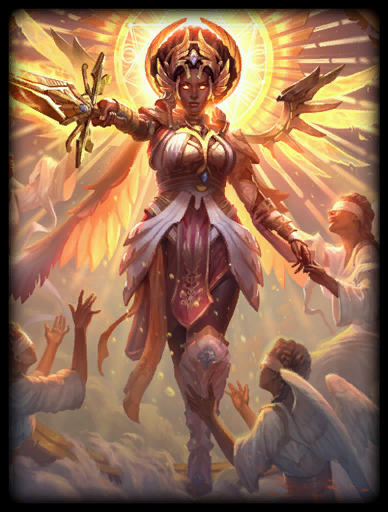 Angelic Archon Skin card