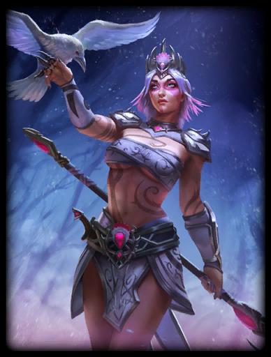 Pale Raven Skin card