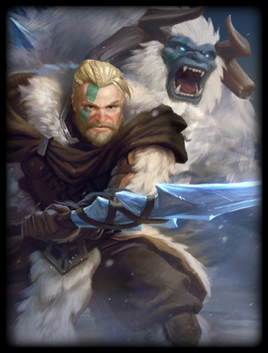 Winter's Curse Skin card