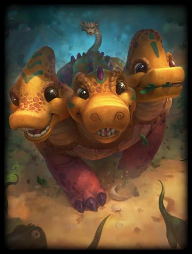 Dino-Mighty Skin card