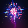 Candy Explosion Emote