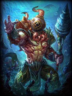 King of the Deep Poseidon