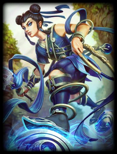 Blue Lotus Skin card