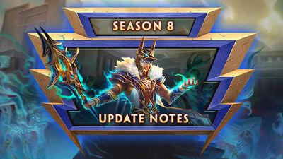 8.1 - Season 8 Update