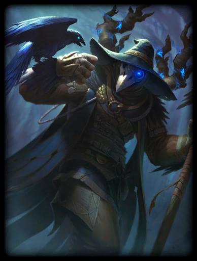 Raven Warlock Skin card