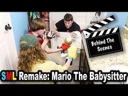 SML Movie- Mario The Babysitter Remake *BTS*
