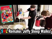 SML Remake- Jeffy Sleepwalks!!! *BTS*