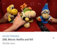 The video on Trending.