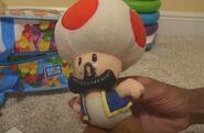 Plastic Mustache Toad