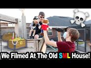 We Filmed At The Old SML House!