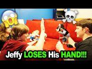 Jeffy LOSES His HAND!!! *BTS*