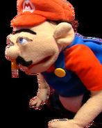 Jeffy imitating Mario