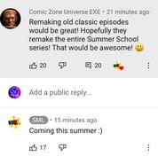 Proof for junior's summer school remake