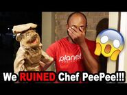 We RUINED Chef Pee Pee!!! *BTS*