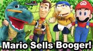 Mario Sells Boogers!