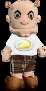 Prototype shrek puppet