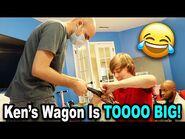 Ken's Wagon Is TOOOO BIG! *BTS*-2