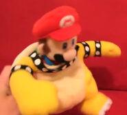 Mario as Bowser