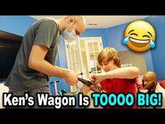 Ken's Wagon Is TOOOO BIG! *BTS*