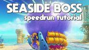 Super Mario Odyssey - Seaside Boss - Speedrun Tutorial