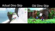 Dino Skip Skip Comparison (Version 1.3