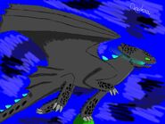 Toothless in fury by xonyksax-d8xobeg