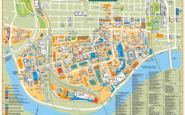 Campus Map of UTK