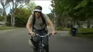 Hardcore Max - Max on his bike