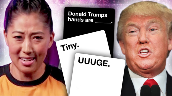 CARDS AGAINST HUMANITY VS. TRUMP