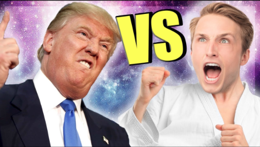 DONALD TRUMP KARATE SHOWDOWN!