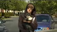 Transformers Rap - Ian holding Little Doggie