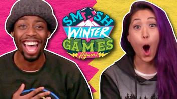 WINTER GAMES FAN ART! (The Show w- No Name - Smosh Winter Games).png