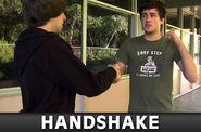 Handshake thumb big