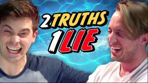 2 TRUTHS 1 LIE - BEST FRIEND WATER CHALLENGE